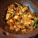 kadai paneer recipe in a clay kadai