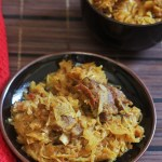 Patta Gobi Gosht Recipe-A tasty cabbage with mutton recipepCabbage Mutton Curry Recipe