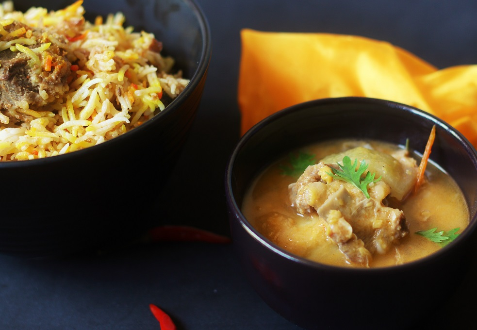 Mutton Dalcha Recipe-A Tasty Dal Curry made with adding mutton to it.