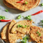 Keema Paratha reicpe- a delicious whole wheat paratha stuffed with mutton keema filling.