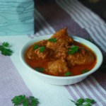 Chicken Vindaloo Recipe in Kerala Style. A delicious chicken curry recipe in Kerala style made with vinegar and coconut oil.