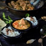 Simple Mutton Gravy recipe in South Indian Style - A very simple and no fuss mutton gravy recipe which you can make with the most basic ingredients available right in your kitchen.