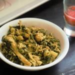 Palak Chicken recipe-Spinach Chicken-How to make Palak Chicken