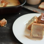 Creamy Chocolate Caramel Fudge recipe - A simple and delicious fudge recipe that will throw all your dieting out of the window! It is so good that it will be hard to stop with just one piece.