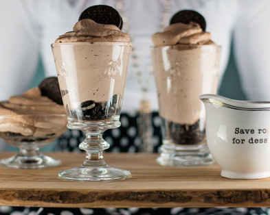 NUTELLA OREO MOUSSE CUPS