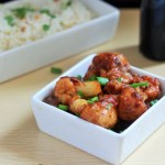 Gobi Manchurian Dry recipe or the Cauliflower Manchurian dry recipe is another dish from the Indo - Chinese cuisine. Coated cauliflower are deep fried and then cooked again with a mix of Indian and Chinese ingredients to produce one of the most popular veg Indo - Chinese dishes.