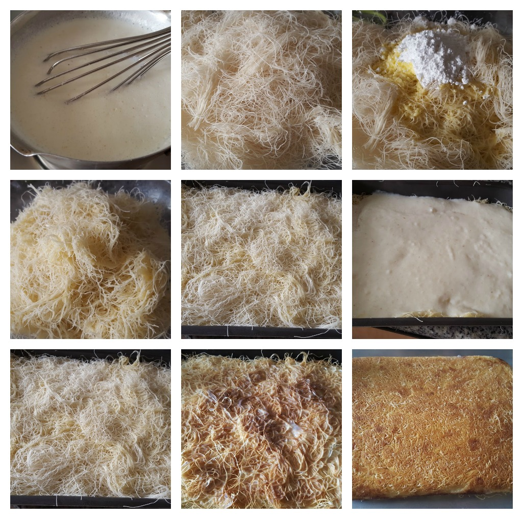 kunafa collage