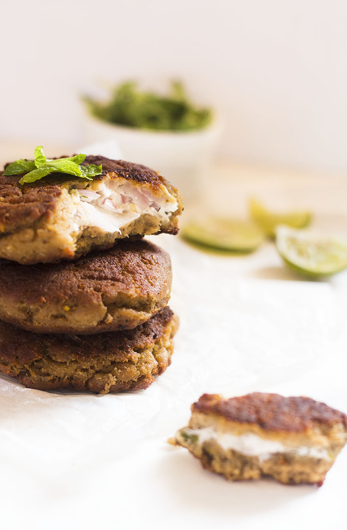 Hyderabadi Shikampuri Kebab recipe, how to make shikampuri kebab  One of the royal dishes from the kitchens of Hyderabad, this hyderabadi shikampuri kebab recipe is to die for. Hyderabadi cuisine has a lot of influence from the era of Mughals and lot of dishes of the hyderabadi cuisine are derived from them.