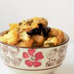 Aloo Gobi Methi Sabzi, Dry Potato Cauliflower Fenugreek Stir Fry Recipe