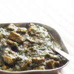 Saag Gosht Recipe, Spinach Mutton Curry