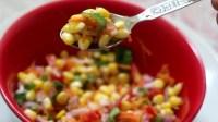 corn chat recipe