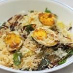 Simple Egg Biryani Recipe, Anda Biryani