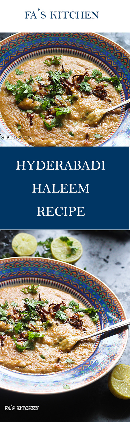 Hyderabadi Haleem Recipe, a delicacy which you can never miss if you ever want a taste of Hyderabadi food. The traditional haleem is a must try in one's life time.
