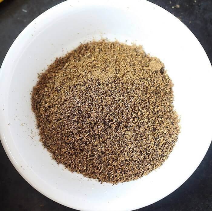 ground cumin & pepper powder