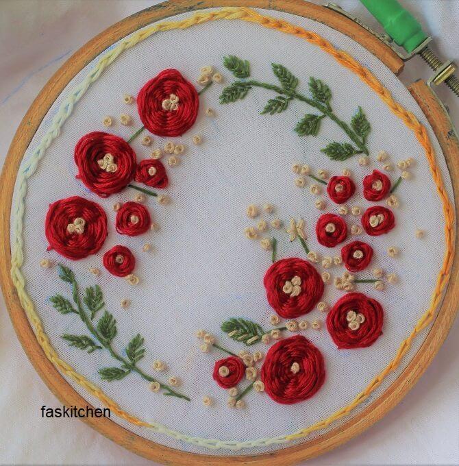 stitch along 2 pattern