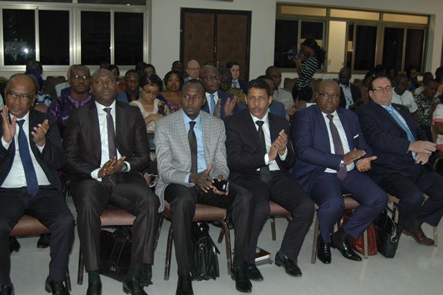 Les participants à la cérémonie d'ouverture de la  37e réunion du Conseil des autorités africaine et malgache de l'aviation civile (AAMAC)