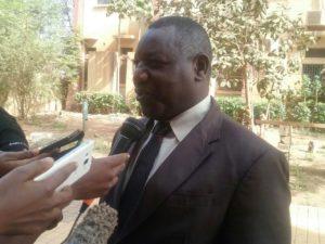 Le Secrétaire Permanent du Forum et de la SNI. M. Hamadé Ouédraogo à échangé sur la nécessité de l'instauration d'une telle journée