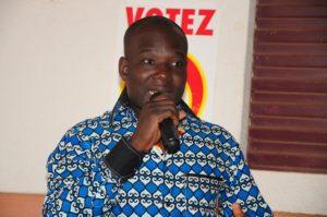 Mathias N. Ouédraogo, coordinateur national des organisations des jeunes du CDP