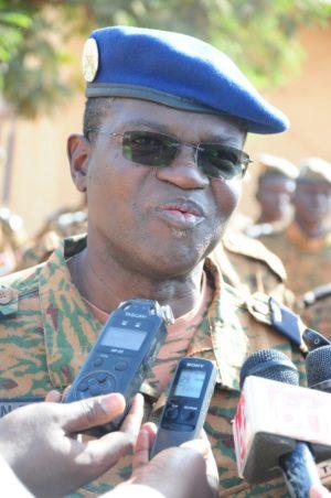 Colonel major Naba Théodore Palé, Chef d'Etat-major général adjoint de l'armée