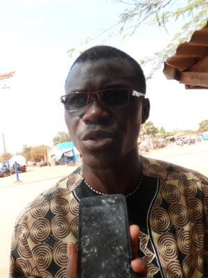 Abdoulaye Traoré, ancien international burkinabè