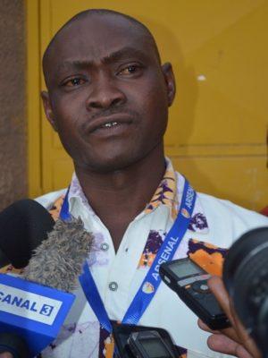 François de Salle Yaméogo, secrétaire général du SYNATEB
