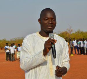 Dimitri Ouédraogo, président de A2S