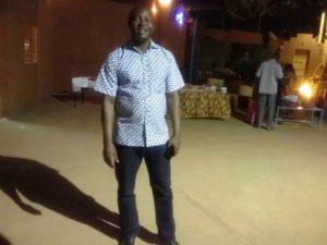 Monsieur Désirer Yameogo espère voir programmer FRONTIERES de Apolline Woyé Traore