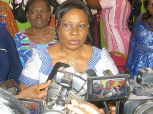 La représentante de la ministre de la femme, de la solidarité nationale et de la solidarité madame Fatie Ouédraogo