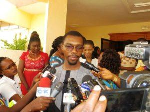 Monsieur Cheick  Fayçal Traoré président de la plateforme des jeunes pour le développement durable