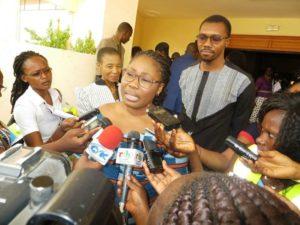 Mme Dephine Maidou Traoré, Directrice Générale des opérations Afrique Allianz, Marraine de la campagne