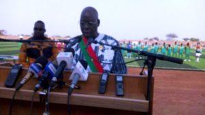 M. Salifou Diallo président de l'assemblée nationale