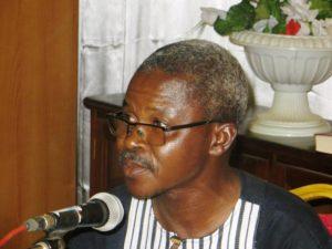 Abbé Modeste Tapsoba coordonnateur des activités du diocèse