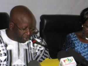 Le Ministre de la sécurité intérieure, Simon Compaoré