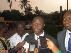 Monsieur l'ambassadeur  de la Côte D'Ivoire au Burkina