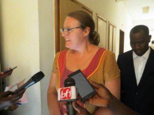 Madame Ulla Næsby Tawiah, Ambassadeur du Danemark