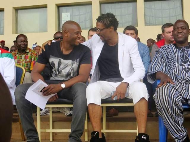 Les invités au gala des anciennes gloires du football africain