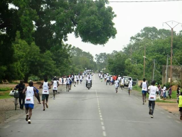 Près de 200 athlètes venus du Burkina, étaient au rendez-vous