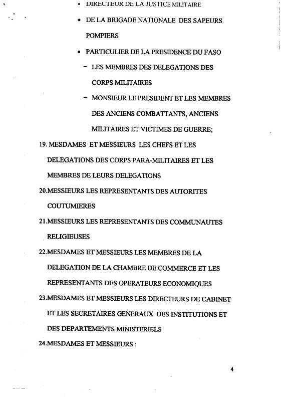 CEREMONIE OFFICIELLE.CONVOCATION CORPS CONSTITUES. OBSEQUES SALIFOU DIALLO-4