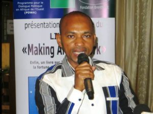M Tahirou Barry représentant SEM Roch Marc Christian Kaboré