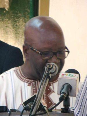 Le Vice-président du MPP Simon Compaoré