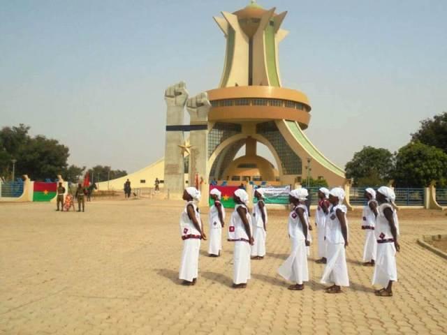 Le monument dédié aux martyrs