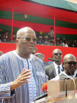 Le Président Rock Marc Christian Kaboré.