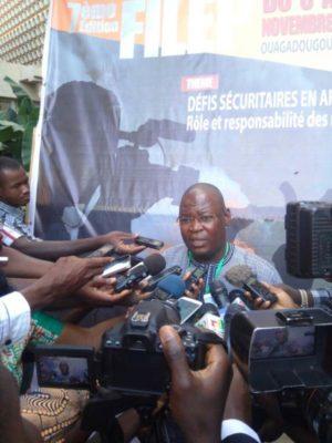 M. Boureima Ouedraogo président du comité d'organisation de la 7ème édition du FILEP