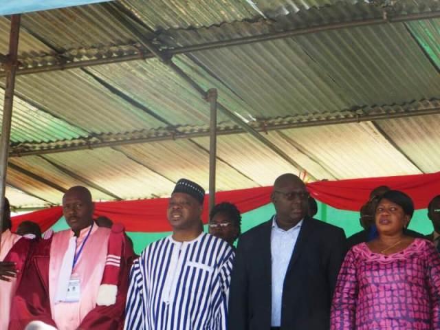 La famille de Norbert Zongo présente à la cérémonie