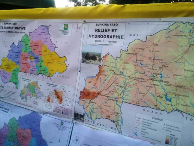 La cartographie du burkina