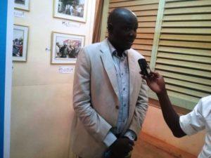 Dr Lassané YAMEOGO co-consultant de l'étude