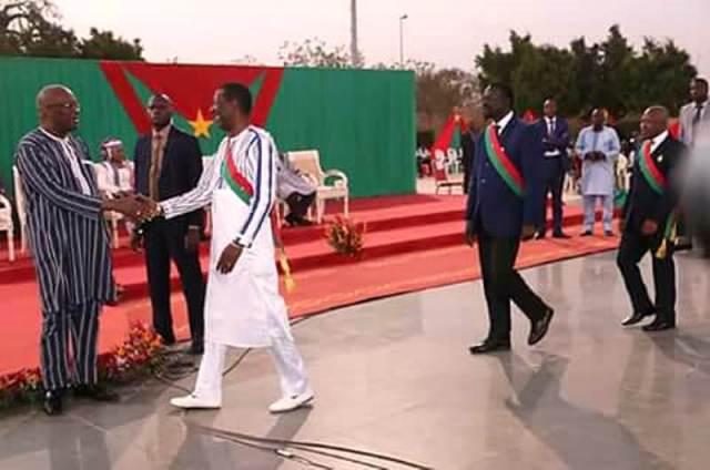 Le Président de L'Assemblée Alassane Bala Sakandé
