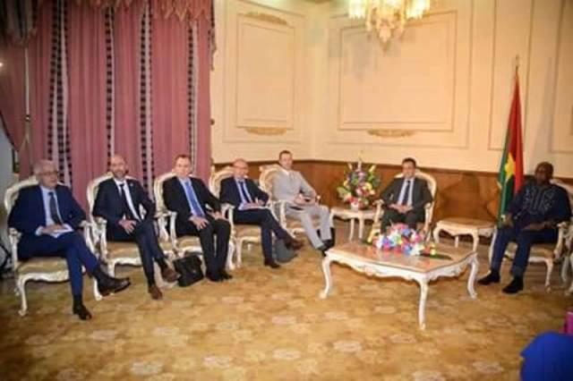 L'ambassadeur de France et le premier ministre