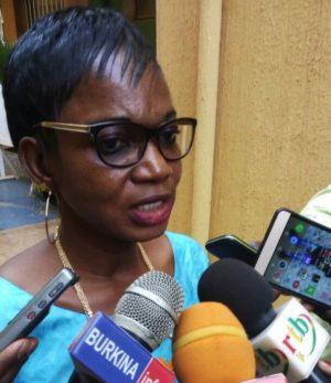 Mme Kaboré chargé de l'enquête IBP du CGD