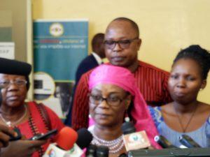 Rosine Sory Coulibaly, Ministre l'Economie et des Finances